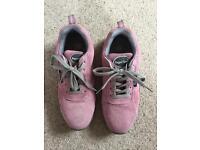 Steel toe ladies trainers