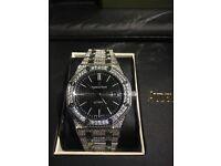 Franck Muller new AP Audemars Piguet Hublot Cartier watch diamond automatic iced transparent glass