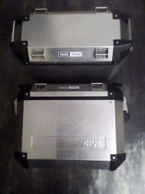 Givi stainless panniers bmwr1200gs