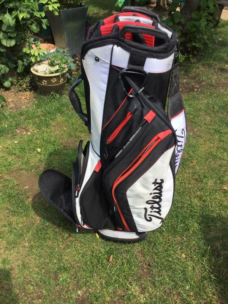 Leist Cart Carry Golf Bag Light Weight In Lincoln Lincolnshire Gumtree
