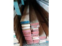 """6"""" x 2"""" timber - 10ft lengths just £8 per length"""
