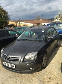 URJENT SALE TOYOTA AVENSIS 2007 GOOD CAR CHEAP QUICK SALE BARGAIN 111000 MILE 1150 ONLY