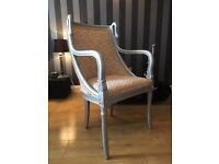 French Armchair - Bedroom Chair - Nursing Chair - Swan Chair - Armchair - Unusual Chair - Reduced