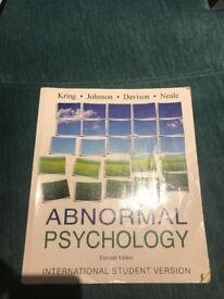 Abnormal psychology 11th edition international student version