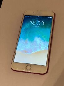 iPhone 7+ Limited Edition RED - All networks