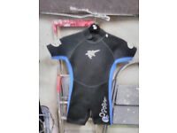 Child's wet suits suitable for 6 & 8 yr olds