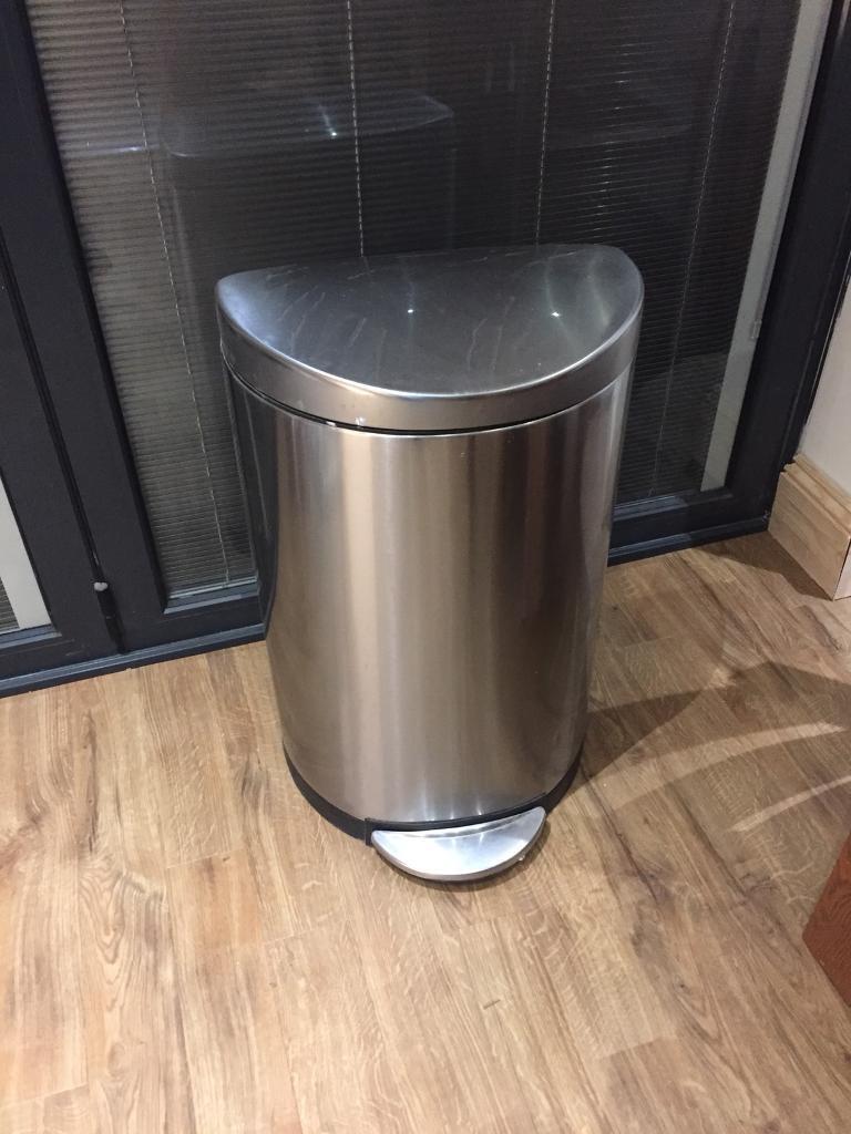 Simple human pedal bin. RRP £119
