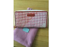 Lovely Radley large zip around matinee purse