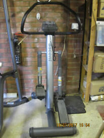 Ascent Step Machine with Adjustable Resistance and Heart Monitor