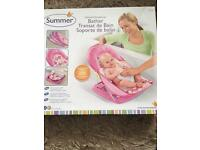 Pink deluxe baby bather