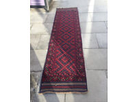 Meshwani Rug .... Runner rug Size L 248cm x 68cm In good condition.