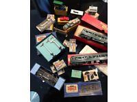 Qty of OO Dublo gauge railway train kit