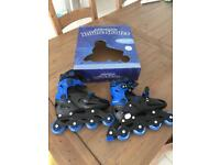 Smyths Toys brand new in-line skates uk 1-3 Euro 33-36