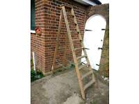 High step ladder