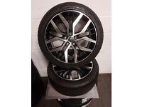 "volkswagen caddy alloy wheels 18"" BRAND NEW"