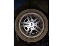 Ford Focus mk1 Alloys set of 6