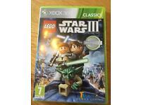 Lego Star Wars 3 XBOX 360 game