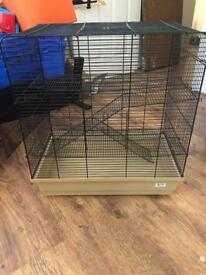 Wire Hamster Cage