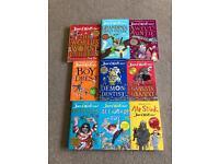 9 David Walliams books