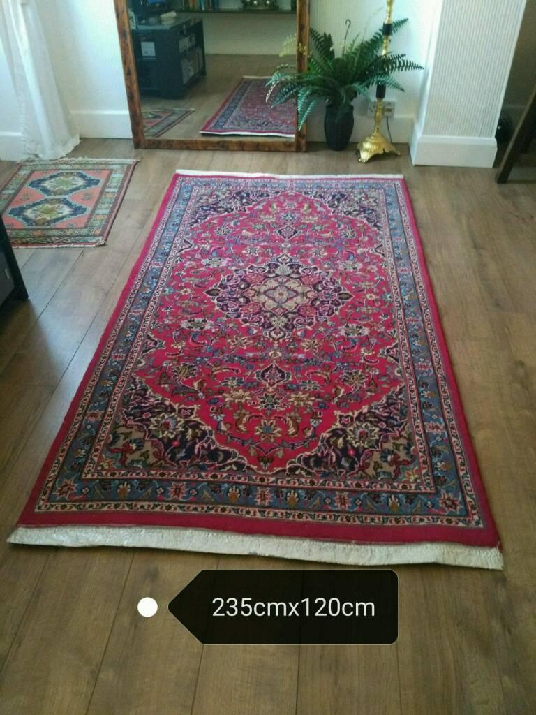 kashan wool handmade persian carpet