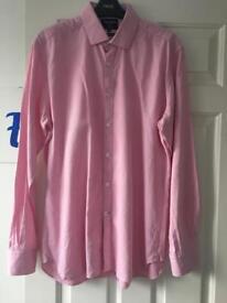 Pink TM Lewin Medium Shirt