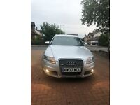 Audi A6 S Line Estate 2.0 TDI, Automatic, Silver, Leather Seats, Cruise Control, Bose sound system,