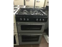 60CM SILVER/BLACK STOVES GAS COOKR