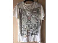 All Saints Crew Neck T-Shirt - S Small