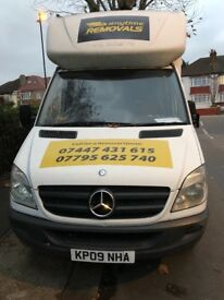 2009 Mercedes sprinter LWB with tail lift