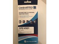 Control Pro Steering Wheel Control Interface for Vauxhall