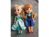 Disney princess frozen toddler dolls