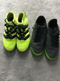 2x adidas football boots junior uk 1