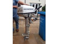 Outboard honda 5hp four stroke long shaft