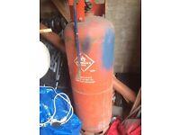 47 KG CALOR GAS BOTTLE NEARLY HALF FULL