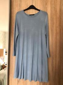 Boohoo maternity swing dress size 12