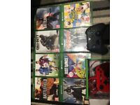 New Xbox one games and remote controls