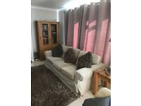 3 Seater Sofa, Beige in excellent condition.