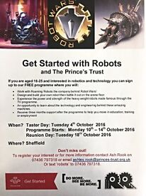 The Prince's Trust Get Started with Robots