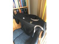 London Wasps Rugby Sports Hoodie black/grey Size L