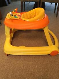 Chicco 3 in 1 Activity Centre Baby Walker with instruction manual