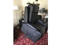 Electric raiser recliner chair