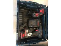 2 drills - a Bosch SDS hammer drill and a Bosch Cordless drill