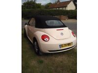 VW Beetle diesel convertible for sale. Fun & economical on fuel. Lovely to drive!