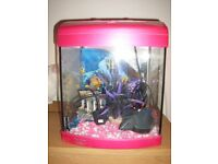 FULLY COMPLEAT GIRLS FISH TANK