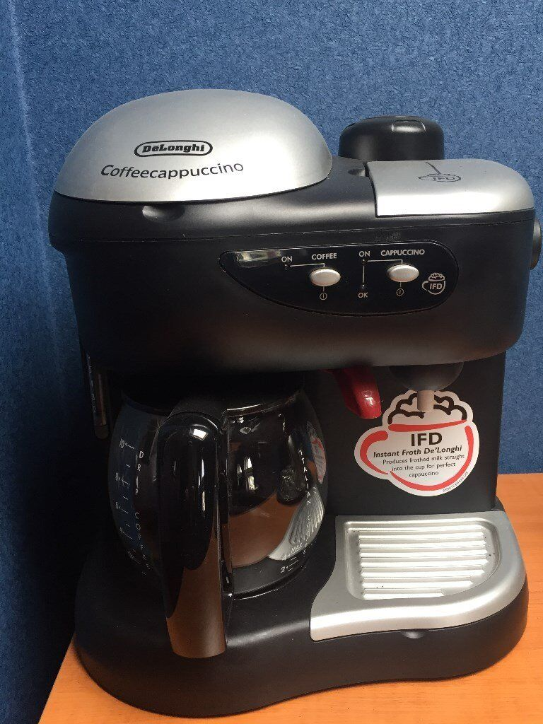 Delonghi Coffee Cappuccino Machinein County AntrimGumtree - Delonghi Coffee & Cappuccino Machine in excellent condition, rarely used. IFD instant froth DeLonghi