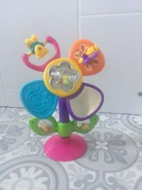 High chair top toy