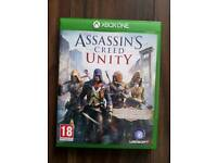 Xbox one game assassins creed unity