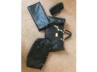 Real leather Nova Harley changing bag