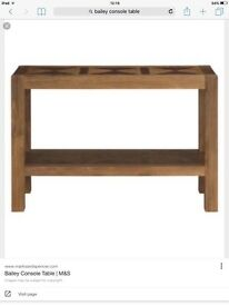 Marks and spencer Bailey hall/console table