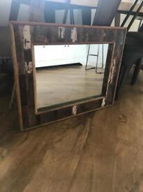 Reclaimed Driftwood Wall Mirror